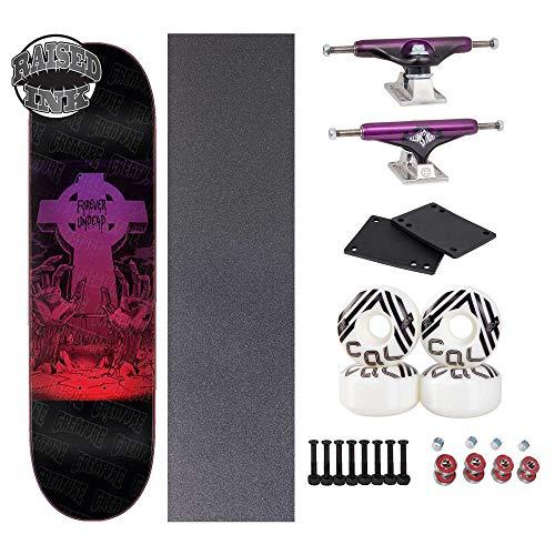 Creature 8.3in x 32.2in Forever Undead Complete Skateboard Setup (Best Cheap Skateboard Setup)