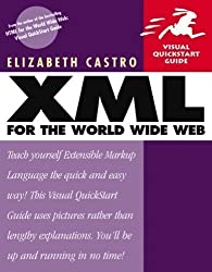 XML for the World Wide Web: Visual QuickStart Guide (Visual QuickStart Guides) 1st (first) Edition by Castro, Elizabeth published by Peachpit Press (2000)