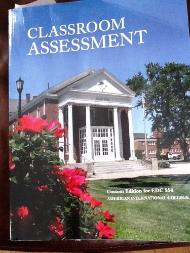 Modern Classroom Assessment Book ~ Classroom assessment  slugbooks