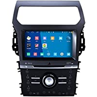 Rupse 8 Inch HD Android 4.4.4 Car DVD Player GPS Navigation Stereo For 2013 2014 Ford Explorer With Automatic Air-condition