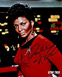 Nichelle Nichols Signed/Autographed Star Trek 8x10 Glossy Photo as Lt. Nyota Uhura. Includes Fanexpo Fanexpo Certificate of Authenticity and Proof. Entertainment Autograph Original. -  Star League Sports