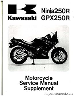 99924 1109 66 1988 2007 kawasaki ex250 ninja motorcycle service rh amazon com 2008 kawasaki ninja 250r service manual ninja 250r service manual pdf download