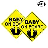 Yinuoday Baby ON Board Sticker Car Decals Safety