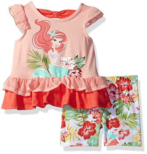 Disney Baby Girls' 2 Piece Ariel the Little Mermaid Bike ...