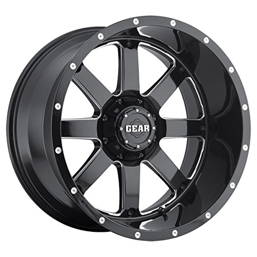 Gear Alloy 726MB BIG BLOCK Wheel with Milled Finish (22x12