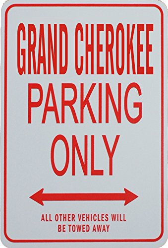 JEEP GRAND CHEROKEE Parking Only Sign Signes de stationnement GRAND CHEROKEE