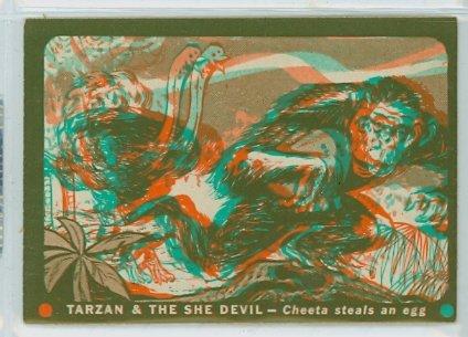 1953 Tarzan / She Devil 7 Cheeta Steals An Egg Excellent to Mint (Eggs Steal)
