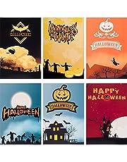 ANEWISH 3D Halloween kaart spinnennet handgemaakte pop-upkaart met enveloppen