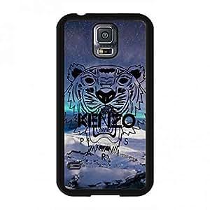 Tough Plastic Design Phone Funda Customized Kenzo Logo Fashionable Design Samsung Galaxy S5 Funda