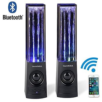 SoundSOUL Wireless Bluetooth Music Fountain Dancing Water Speakers