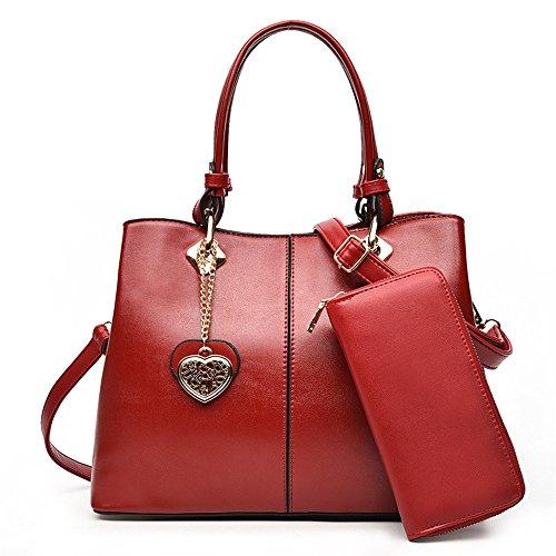 GWQGZ Moda Bolso Lady'S Handbag Azul Gules