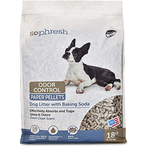 So Phresh Dog Litter with Odor Control Paper, 18 LB, One Size Fits All
