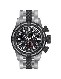 Invicta 80544 Men's Bolt Reserve Dive Chronograph Black Dial Two Tone Steel Watch