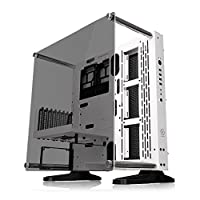 Thermaltake Core P3 Tempered Glass with Riser Cable Included Snow Edition ATX Open Frame Panoramic Viewing Tt LCS Certified Gaming Computer Case CA-1G4-00M6WN-05