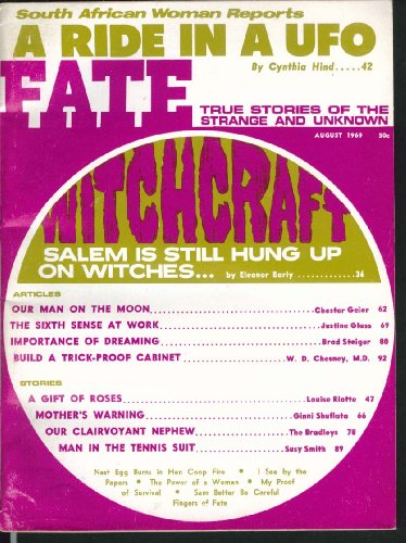 (FATE #233 Salem Witchcraft South African UFO Tennis Suit 8 1969)