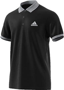 adidas Club Solid Polo de Tenis, Hombre, Negro, M: Amazon.es: Ropa ...