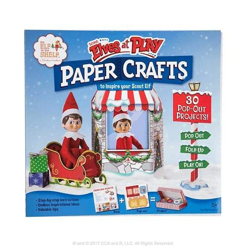 CREATIVELY CLASSIC ACTIVITIES AND BOOKS Scout Elves at Play Paper Crafts ()