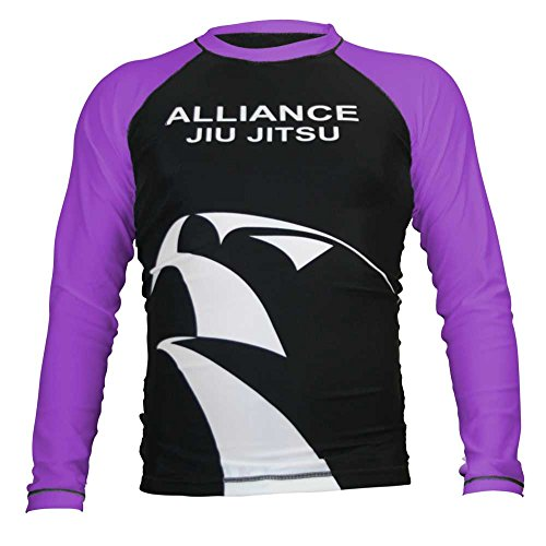 KEIKO SPORTS Original Alliance Rashguard L/S - Purple - Small