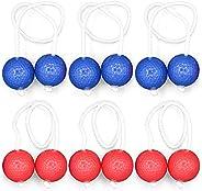 Sangmei Ladder Toss Ball Golf Ball Bolas Hard Golf Training Balls Outdoor Game Ball Set