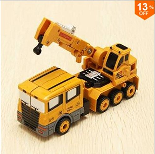 Metal Truck Hercules Combination Truck Transformers Toys by GokuStore