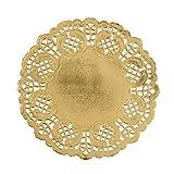 Arts & Crafts : Darice Gold Paper Doilies, 25 Piece (30030443)