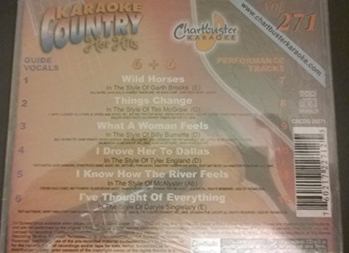 Charbuster Karaoke country hot hits vol 271 (Charbuster Karaoke)
