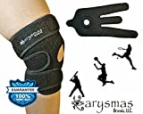 KARYSMAS Open Patella Knee Support Brace with Basic Stabilizer Kneecap Support and Lateral Stabilizers for Workout, Arthritis, Meniscus, Tear, ACL, Pain, Knees, Sports, Injury/PS Recovery