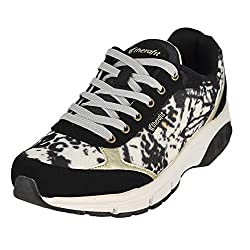 Therafit Ginger Black Gold Womens Walking Shoe Size 7M