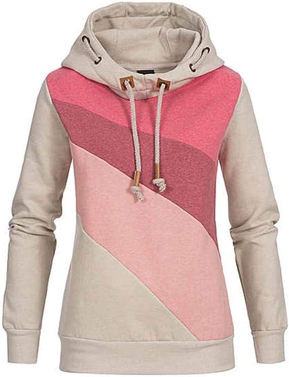 TOPKEAL Hoodie Pullover Damen Herbst Winter Kapuzenpullover
