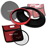 Wonderpana 145 Essentials Kit for Canon 14mm Super Wide Angle EF f/2.8L II USM Lens with Slim Circular Polarizing Filter (CPL)