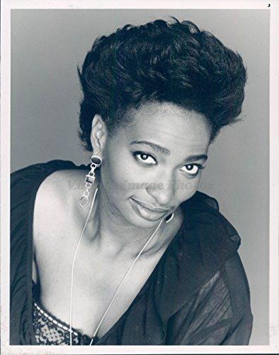 1992 Photo Ellen Cleghorne Wag Actress Saturday Night Live African Pretty