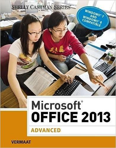 ??OFFLINE?? Microsoft Office 2013: Advanced (Shelly Cashman Series). ambito millions Siemens Alguien Design