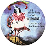 Enesco Holy Crap Restraint Coaster Set, Set of 4