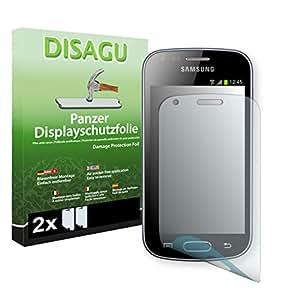 2 x DISAGU Lámina blindada para pantallas Samsung Galaxy Trend contra roturas