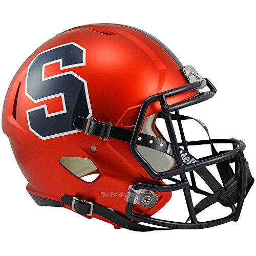 Syracuse Orange Officially Licensed NCAA Speed Full Size Replica Football Helmet by Riddell