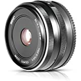 Meike MK-4/3-28-2.8 28mm f/2.8 fixed manual focus lens for Panasonic Lumix GF5/6/7 and Olympus1EM1 EP5 4/3 system Mirrorless Camera