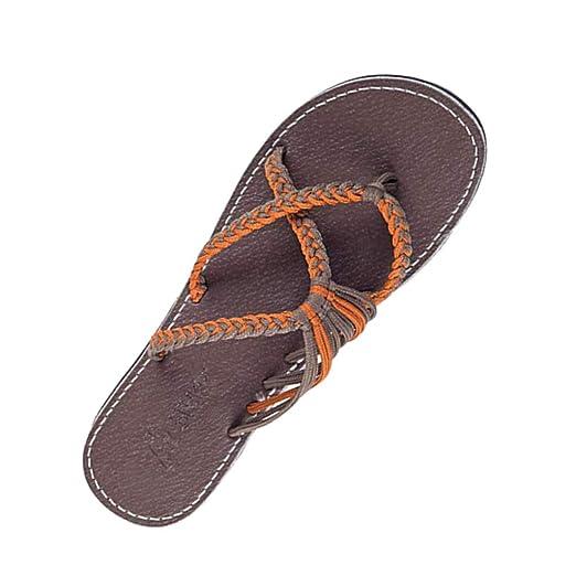 a7b0985d3c1eb Amazon.com: {Minikoad}Women Flat Sandals,Ladies Roman Sandals ...