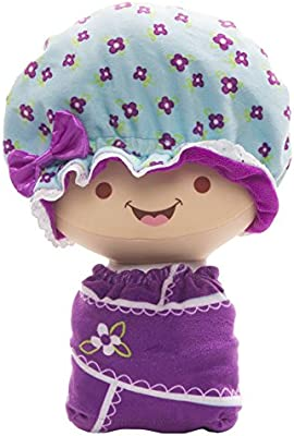 Amazon.com: Muñeca de peluche Flip Zee Happy Flower ...