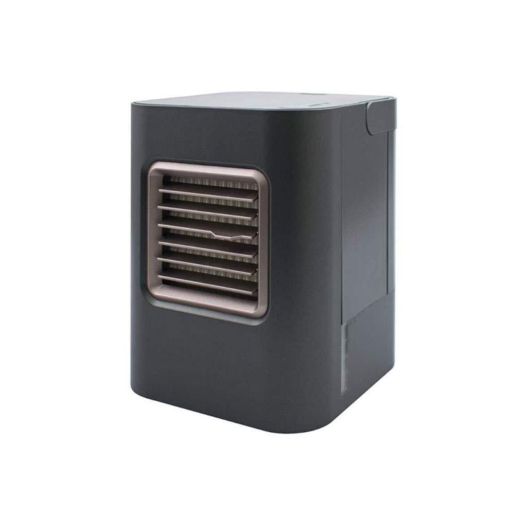 CXSD パーソナルスペースエアコンクーラーエアコンファン制御ミニ空気循環器用ホームルームオフィス3色 (Color : Gray) B07TVDPNV3 Gray