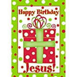 Custom Decor Happy Birthday Jesus- Large Flag For Sale