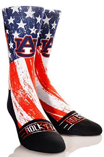 Rock Em Apparel The Ohio State University Buckeyes Custom Athletic Crew Socks