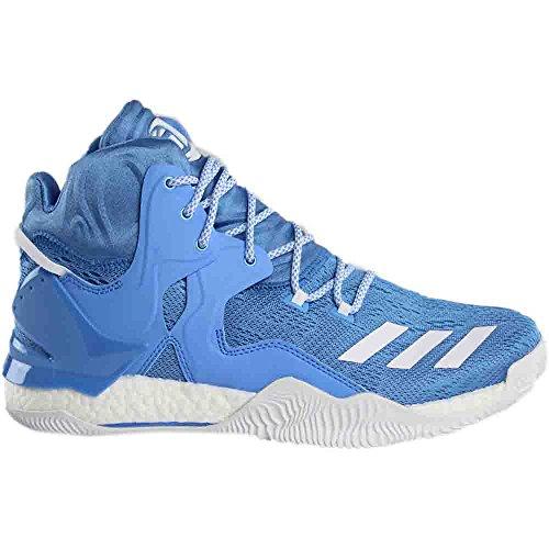 Adidas Sm D Rose 7 Blu Nba; Bianco