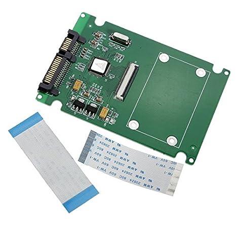 1,8 ZIF/LIF Disco HDD Disco Duro SSD a 7 + 15 22 Adaptador SATA ...