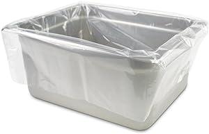 PanSaver Eco Oven Safe Pan Liner, Half Pan Medium and Deep
