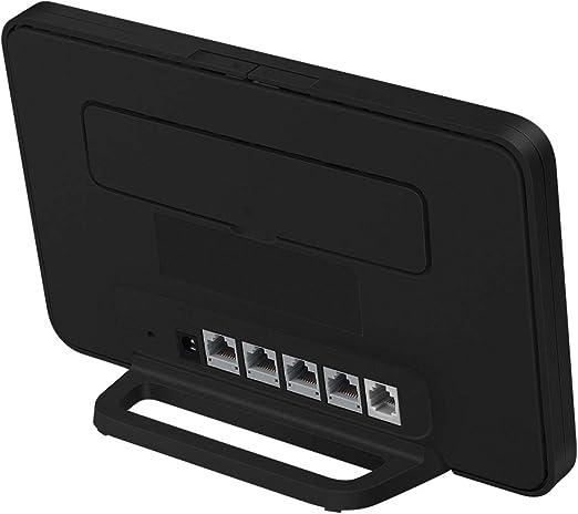 HUAWEI 4G Router 3 Pro - Mobile WiFi 4G LTE (CAT.7) Punto de acceso wifi, Soporte de selección automática Wi-Fi de doble banda y Beamforming, 4 puertos Gigabit, Instalación automática, Negro: Amazon.es: