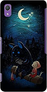 DailyObjects Moonlight Camping Case For Sony Xperia Z2