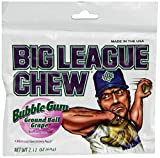 BIG LEAGUE CHEW (bubble gum) GRAPE 12 pack