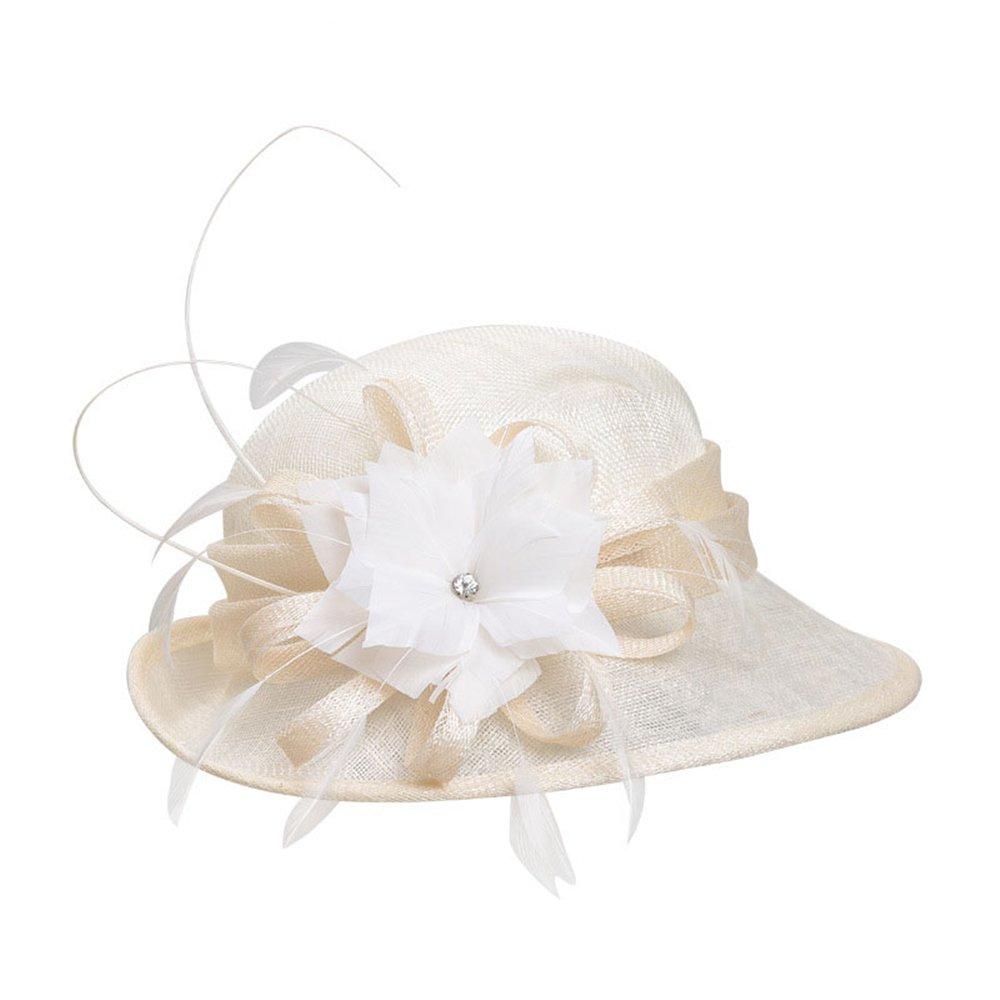 Shuo lan hu wai Hut-Bankett der Frauen-aristokratischer Damen-Hanf-Hut-Partei-Hüte für Kinder