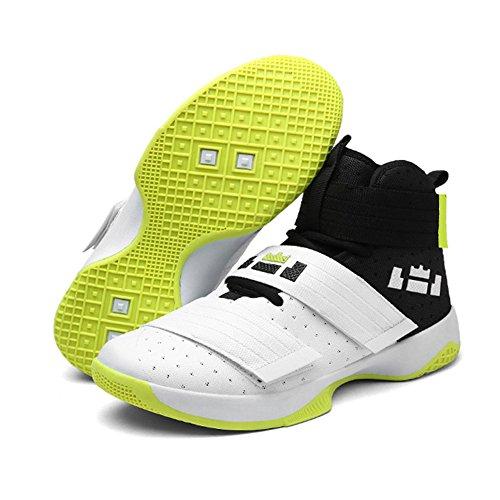Chaussures Basket Homme Largeshop Pour Weiß Ball Spécial w8gxwdnq46