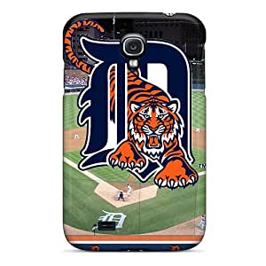 SherriFakhry Samsung Galaxy S4 Durable Hard Phone Case Support Personal Customs Beautiful Detroit Tigers Pattern [SCx13745meiq]
